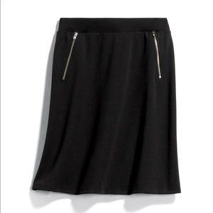 Le Lis zipper detail skirt